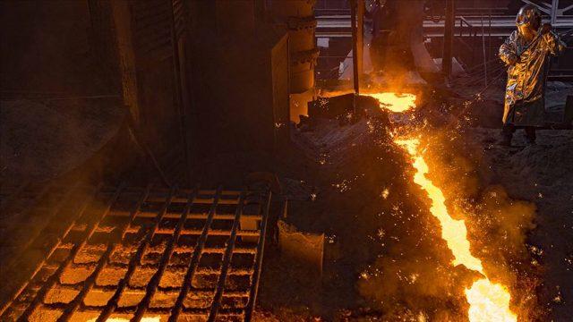 Ham çelik üretimi nisanda yüzde 2,6 arttı