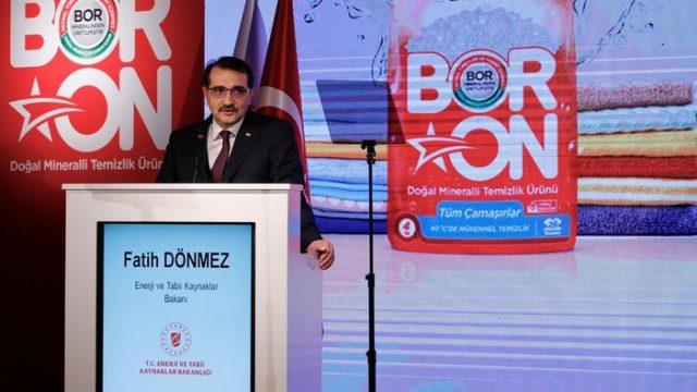 Boron'da üretim 15 bin tonu geçti