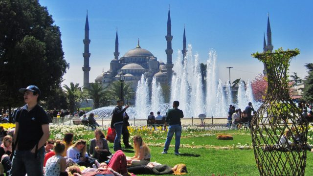 İstanbul'a 5 ayda 5,4 milyon turist!