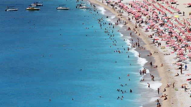 Antalya'da tüm zamanların turist rekoru kırıldı
