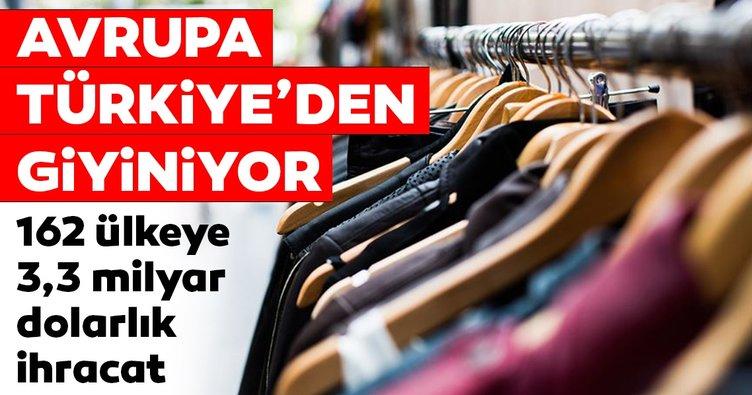 Avrupa Türkiye'den giyiniyor