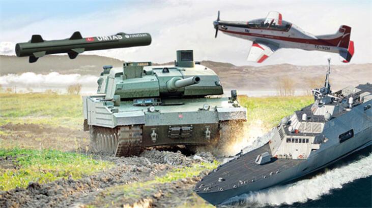 Savunma ve Havacılık Sanayii her alanda atakta!