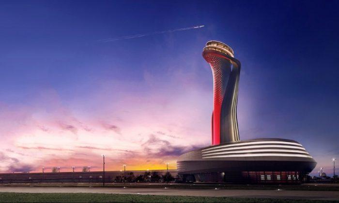 İstanbul Havalimanı ile havadan İpekyolu