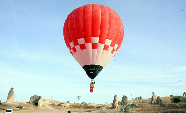 Türkiye'de ilk kez yerli sıcak hava balonu üretildi