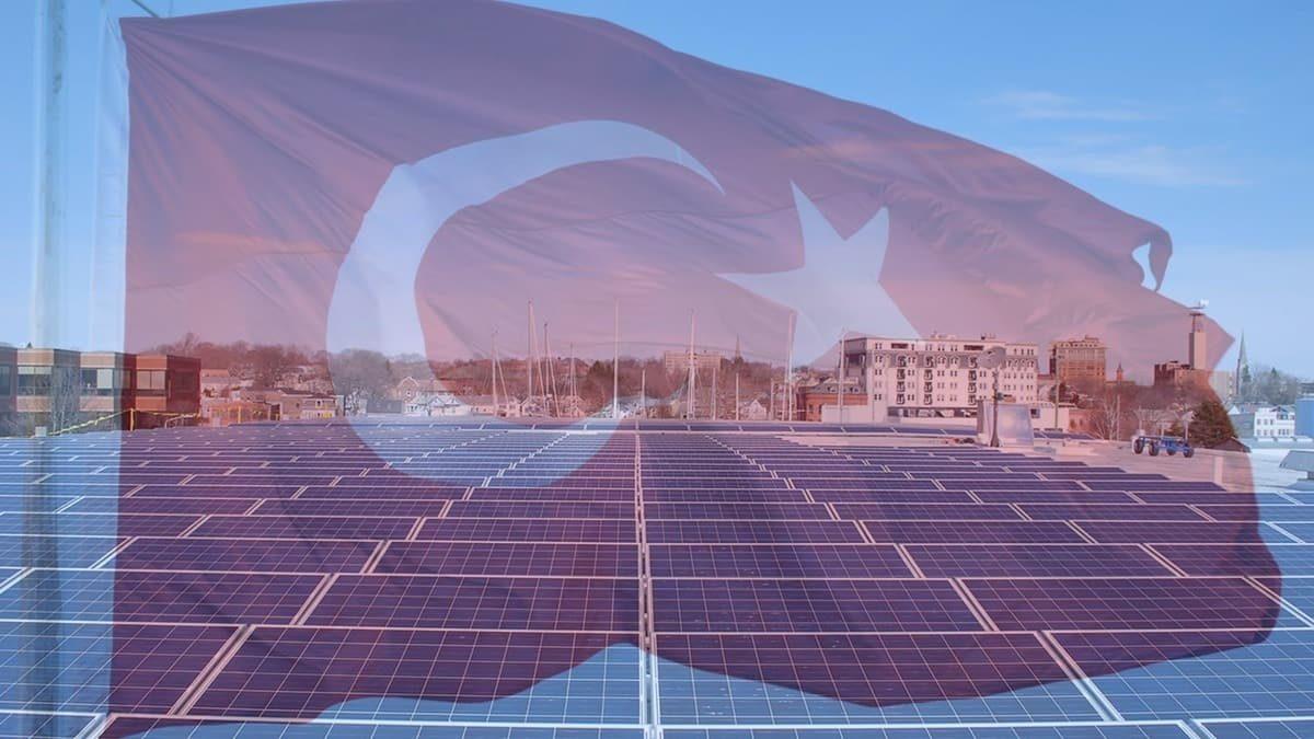 Türkiye, yenilenebilir enerji kurulu gücünde Avrupa'da altıncı, dünyada on üçüncü sırada