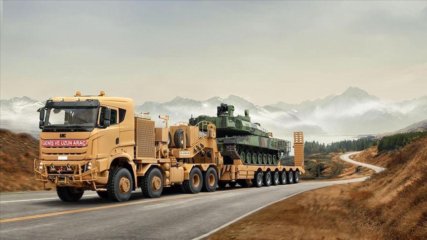 BMC'den Avrupa'ya 120 tonluk 'dev' adım