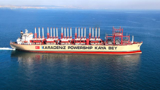 Libya Seeks Floating Power Station From Turkish Company