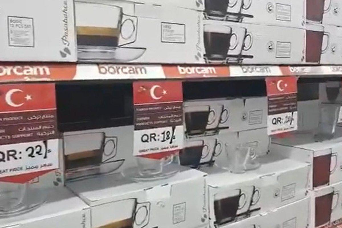 Katar'dan destek: Sadece Türk ürünleri alın