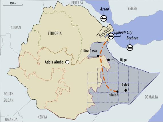 Türkiye Etiyopya'da petrol arayacak