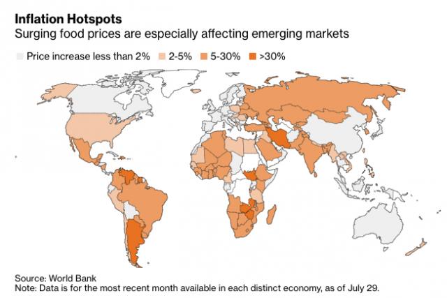 Dünya geneli gıda fiyatları arttı